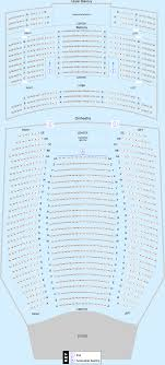 Count Basie Center For The Arts Seating Chart Count Basie