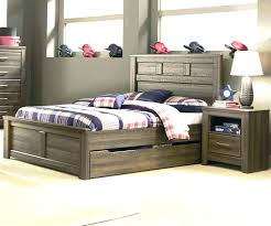 kids storage bed. Kids Full Bed With Storage Size Twin Trundle