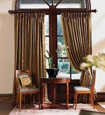 wood curtain rods designs for wooden
