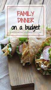 But for the average family of four, those nights on the town can cost hundreds of dollars per week! 4 Fun Saturday Night Dinner Ideas That Cost Less Than 10 Moms Collab Dinner Weekend Lunch Ideas Weekend Meals
