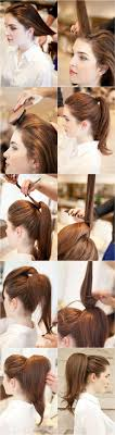 How To Make A Hair Style how to make a big full ponytail hair style with backbing 5364 by wearticles.com