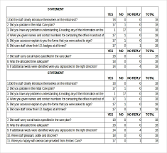 Satisfaction Survey Template 20 Free Word Excel Pdf