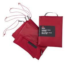 Купить <b>пол</b> для <b>палатки MSR</b> Universal 1 Large 13009 красный ...