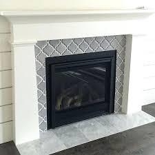 fireplace wall tile ideas feature tiles uk artisan arabesque ceramic surround marble hearth