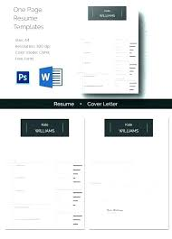 Free Mac Resume Templates Delectable Resume Template Download Mac Templates For Pages One Page Personal