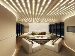 Led Lighting For Living Room Living Room Brightening Dark Interiors Lights Living Room Cool