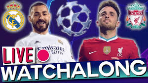 Real Madrid vs Liverpool - Champions League Quarter-Finals (Rabona TV Live  Watchalong) - YouTube