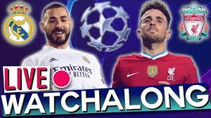 Real Madrid vs Liverpool - Champions League Quarter-Finals (Rabona TV Live  Watchalong) - YouTube