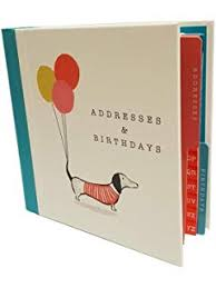 Birthday And Address Book Birthday Address Book Summer Breeze Amazon Co Uk Office Products