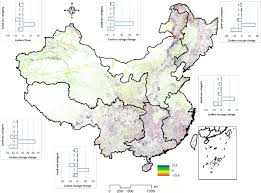 Chinas Terrestrial System Carbon Stock Change Caused By