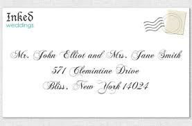 how to properly address wedding invitations unique wedding ideas Whose Name Should Go First On Wedding Invitations wedding invitation to a married couple different last whose name goes first on wedding invitations
