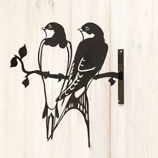 metal silhouette swallow cj