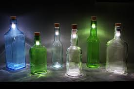 wine bottle light fixtures small 30 turn a wine bottle into a lamp with this led