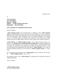 Gallery Of Invitation Letter For Us Visa Template Resume Builder
