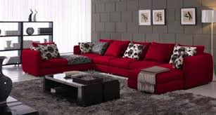 to decorate with red furniture