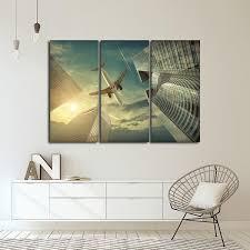 flight canvas wall art