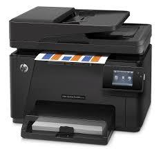 Hp Color Laserjet Pro Mfp M177fw Laser Printer Scanner Copier L