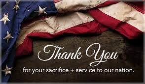 Thanks For Your Service Thank You For Your Sacrifice And Service To Our Nation Ecard