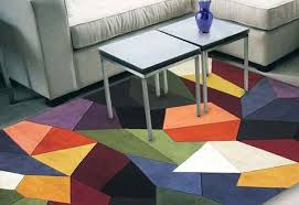 turn your head to this kas signature 9086 multi prisms modern area rug and discover fresh waves of bright color originality and contemporary style