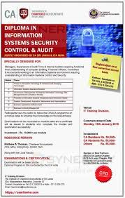 diploma in information systems security control audit by icasl  diploma in information systems security control audit by icasl