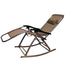 Patio Recliner Chairs Partysaving Infinity Zero Gravity Rocking Chair Outdoor Lounge