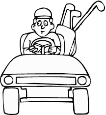 Small Picture Golf Coloring Pages