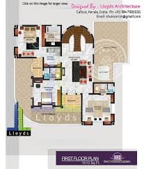 5 bedroom luxurious bungalow floor plan and 3d view newbrough