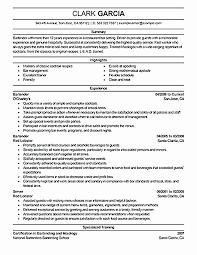 Bartending Resume Templates Adorable 48 Free Bartender Resume Template Easy Writing
