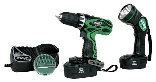 hitachi cordless drill. amazon.com: hitachi ds18dvf3 18-volt ni-cad 1/2-inch cordless drill/driver kit (discontinued by manufacturer): home improvement drill
