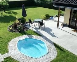 Inground Pool Styles Small Backyard Pool Inground Pool Ideas Enchanting Small Pool Designs For Small Backyards Style