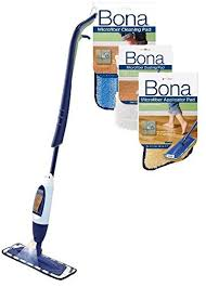 bona hardwood floor spray curve mop with dust pad and applicator pad
