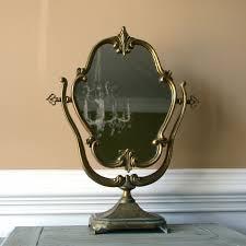 antique mirror vanity furniture