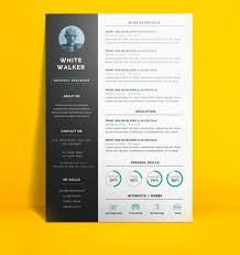 Creative Resume Templates Microsoft Word Classy Free Creative Resume Templates Microsoft Word Download 28 Free
