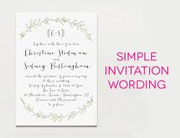Wedding Invitation Wording Samples (For Real Life)