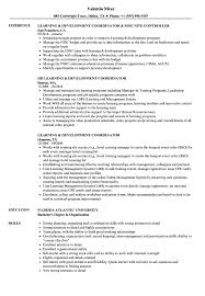 Learning Development Coordinator Resume Samples Velvet Jobs