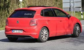 2018 volkswagen polo price. wonderful polo new spy images of the 2018 vw polo surface for volkswagen polo price r