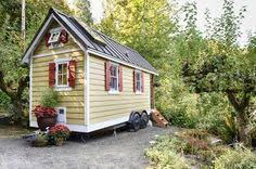 tiny houses for sale in washington state. Simple Tiny The Bayside Bungalow  Take A Look Inside This Home Brittany Yunker Dreamed  Big By Thinking Small Building Her Cozy Washington State Abode From The Ground  On Tiny Houses For Sale In State S