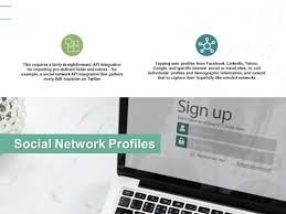 Social Network Profiles Technology Ppt Powerpoint