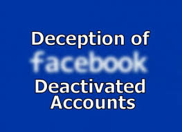 How long can I leave my Facebook account deactivated before it's deleted