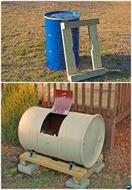 diy metal drum compost bin