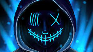 Neon Mask 4k, HD Artist, 4k Wallpapers ...
