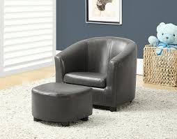 Leather Accent Chair With Ottoman Furniture Elegant Chair And Ottoman Sets That You Must Have