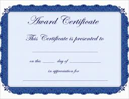 Free Printable Certificate Of Achievement Template Mult