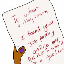 Online Job Cover Letter Draculas Cover Letter For Job Application Jane Austens