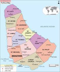 maps of barbados  bizbillacom
