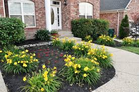 Flower Beds For Front Of House Landscape And Plants Best