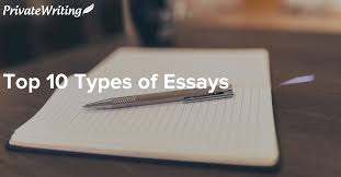 general classification of main essay types the top