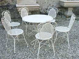 wrought iron wicker outdoor furniture white. Fine Outdoor White Wrought Iron Patio Furniture Great  As Doors Inside Wrought Iron Wicker Outdoor Furniture White I