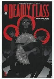 Deadly Class #43 2020 Unread Wesley Craig Main Cover A Image Comics  Remender   eBay