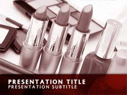 free cosmetics powerpoint template le master